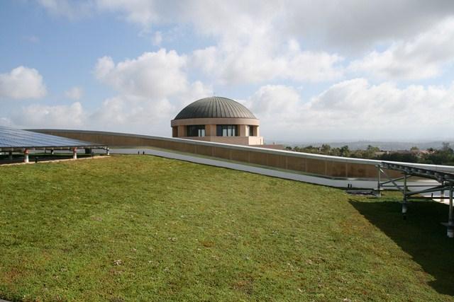 Soka University Performing Arts Center Green Roof System