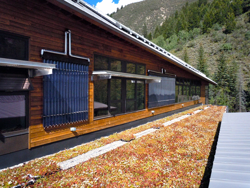 avon colorado green roof by liveroof