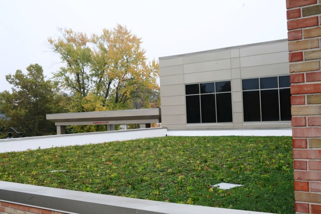 grand haven community center green roof by liveroof