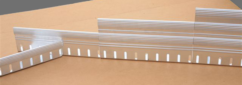 Roofedge Aluminum Edge Restraint Liveroof Hybrid Green Roofs
