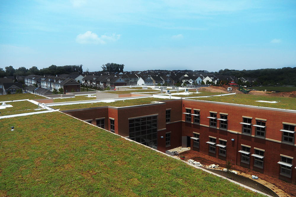 Montgomery County Schools Living Roof by LiveRoof